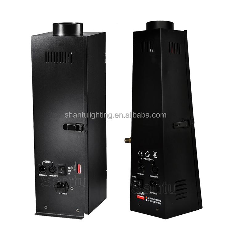Baisun merk Guangzhou Factory Prijs China Stage 150 W DMX Vlam Fire Effect Machine