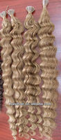 Indonesia stick tip hair bonded extensions