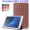 Fashion Horizontal Flip Leather Case for Samsung Tab A 7.0 2016, Tablet Cover for Samsung Tab