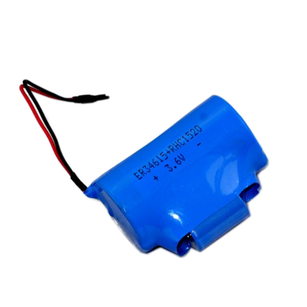 High quality ER34615 3.6V 19Ah Li-SOCl2 Battery with Super Capacitor 1520 replace ER34615M