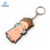 China manufacture factory price cartoon custom soft PVC key chain