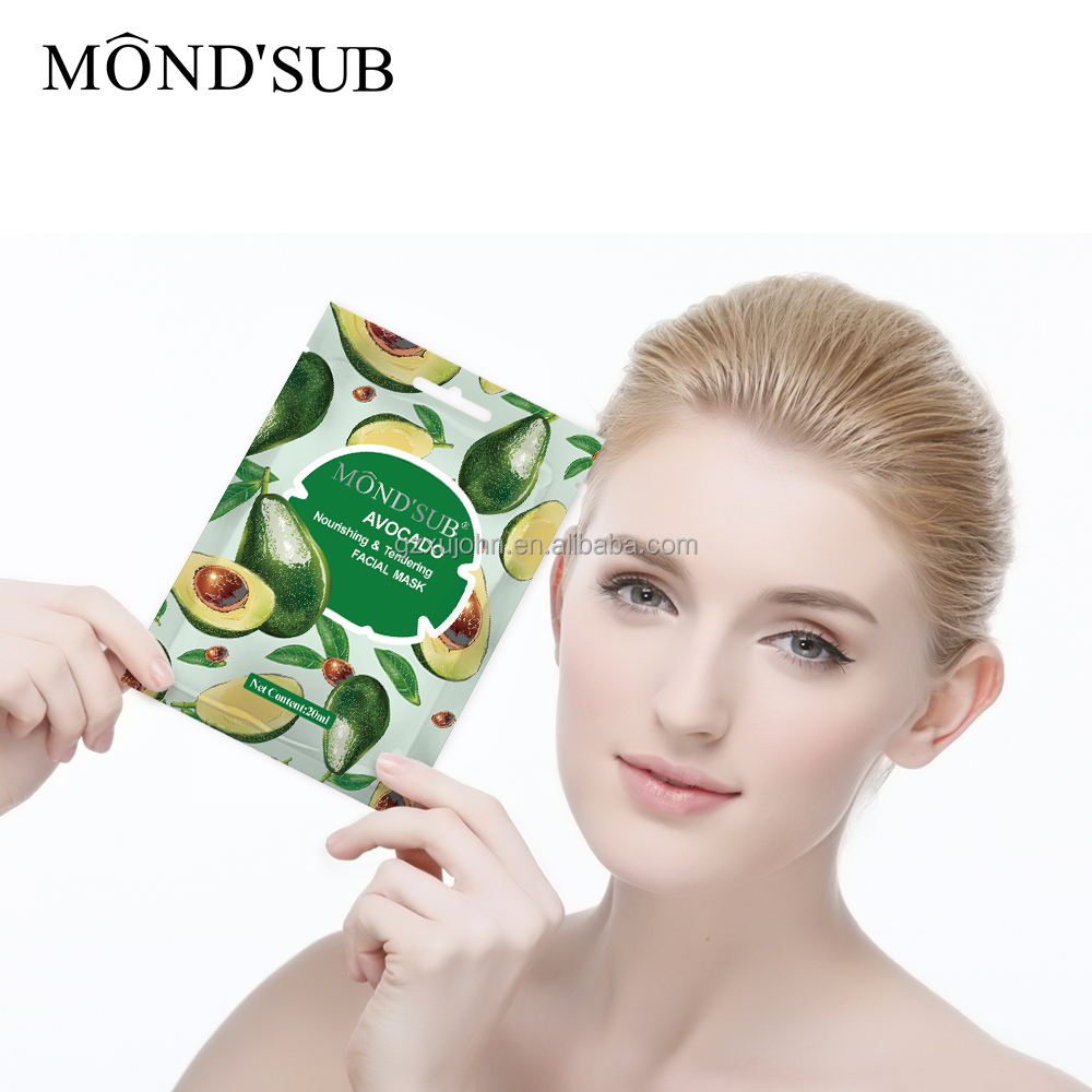Facial fruit mask commit