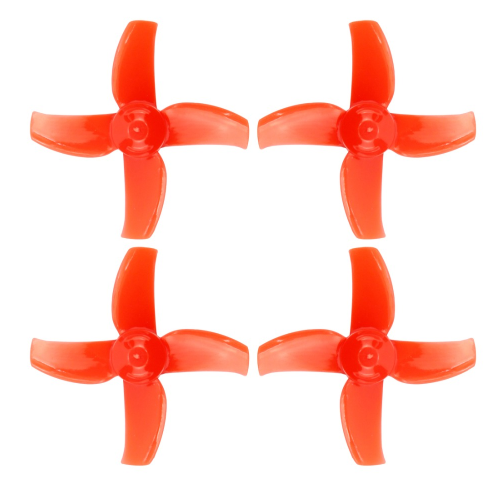 40mm CW CCW 4-blade Propellers Prop Paddles 1mm <strong>Hole</strong> For Happymodel Mobula 7 FPV RC Drone 0703 0802 8520 Motor
