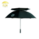 Good Quality Polyester Subway Rain Umbrella Extra Large Double Canopy Golf Umbrella
