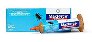 2 (TWO) Tubes of Maxforce FC Magnum Roach Killer Bait Gel w/Plunger and Tip