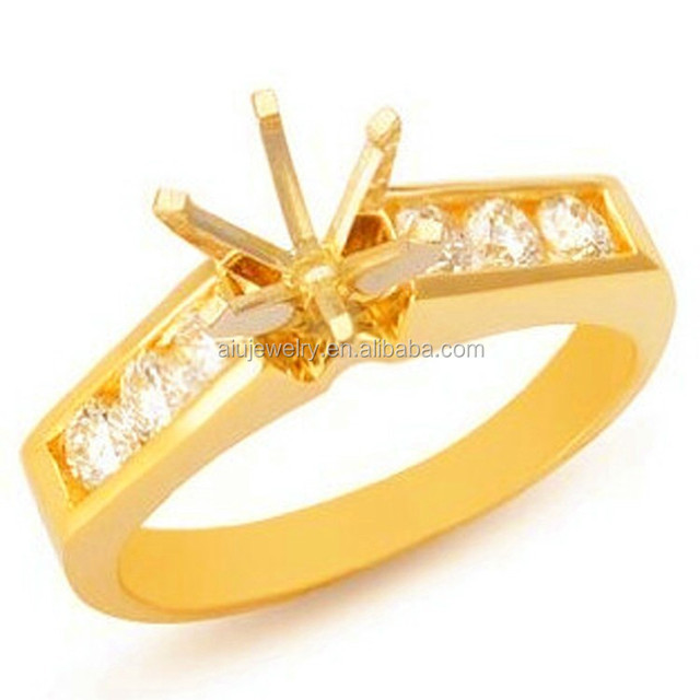 Fashion Semi Mount Engagement Ring