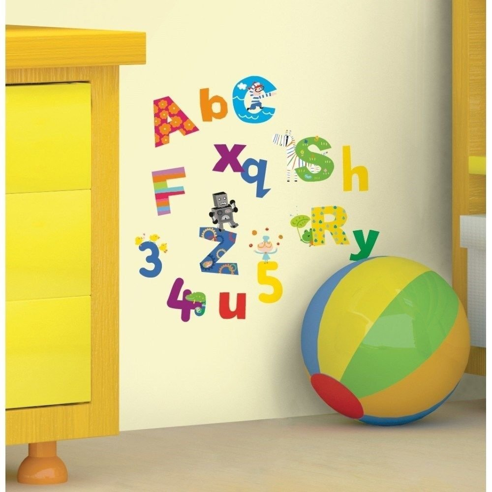 Buy New Lazoo Alphabet Numbers Wall Decals Abc Letters