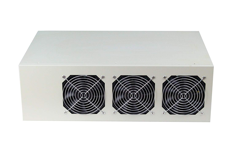 BitcoinMerch.com 8 GPU Mining Frame With Motherboard Included (8 GPU Mining Frame With Motherboard Included)