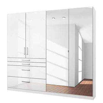 foshan brown mirror hinged door for hotel wardrobe designs. Black Bedroom Furniture Sets. Home Design Ideas