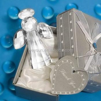 Crystal Angel Baby Shower Baptism Gift Present Keepsake Wedding