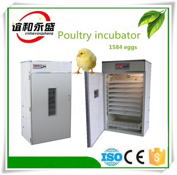 Best price 1584 eggs capacity chicken egg incubator spare parts for sale in tanzania