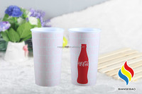summer promotional gift PP reusable 16 oz clear plastic cups
