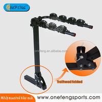 hanging Bike rack For Car hitch mounted Bike Rack carrier 4 Bicycle