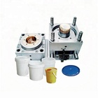 Plastic paint bucket new products supply ready mould injection mold maker