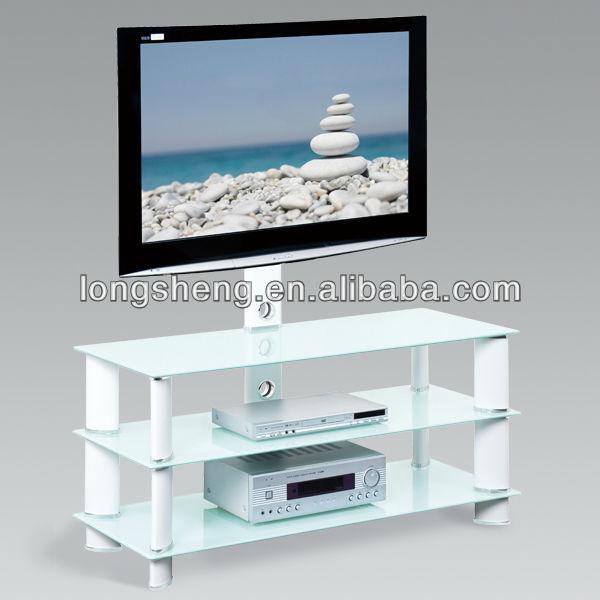 bianco mobili soggiorno tv stand moderno tv lcd mobile ad angolo-TV ...