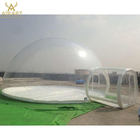 inflatable clear bubble tent,camping tent for outdoor