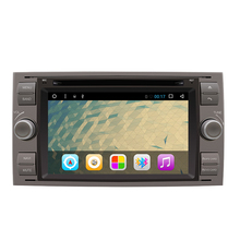 "7""Autoradio 2 Din Android Car DVD Player For 2005/2006/2007 Galaxy S-Max Car GPS Radio Stereo Cassette Recorder"