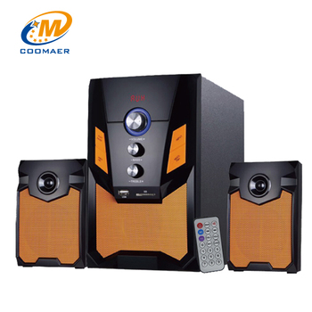 Profesional Bluetooth Computer Subwoofer 2.1 Multimedia Speaker with Woofer