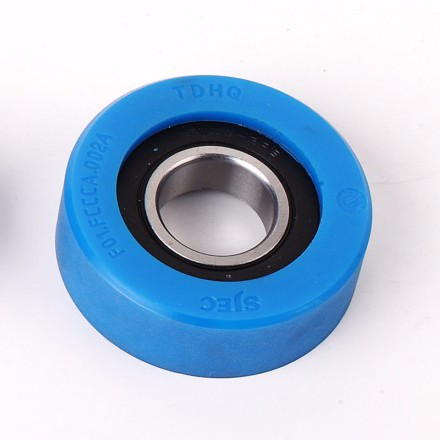 CNRL-161 High Performance Escalator step Rollers cost 80*25mm
