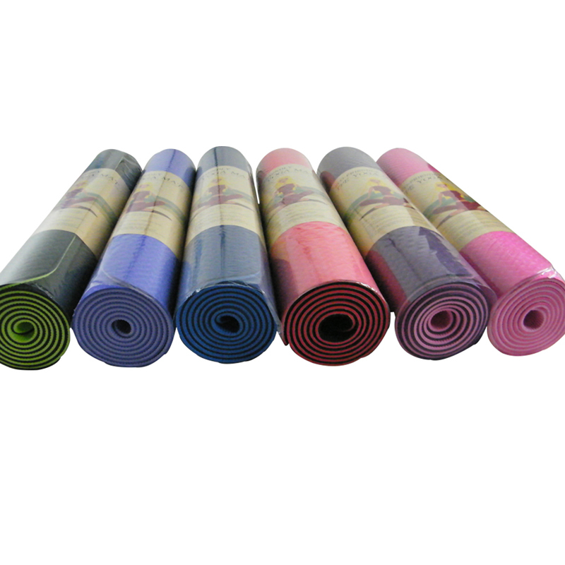 new 2014 pilates Eco-friendly tpe yoga mat triangle set lengthen yoga mats fitness sport mat blanket slip-resistant pad retail
