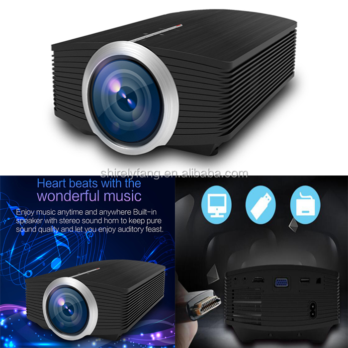 Wholesale Cheap Cost-effective Mini LCD Projector YG510 Full HD Video Portable LED Home Theater projetor