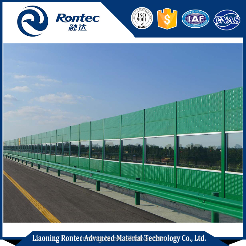 full custom highway traffic noise barrier sound reduction wall