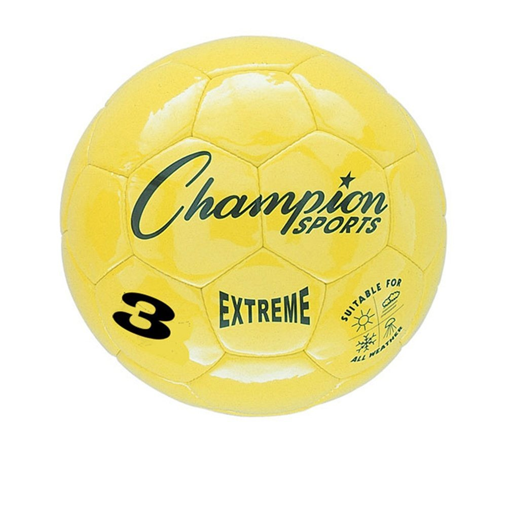 Champion Sports Extreme Series Composite Soccer Ball: Sizes 3, 4, & 5 in Multiple Colors