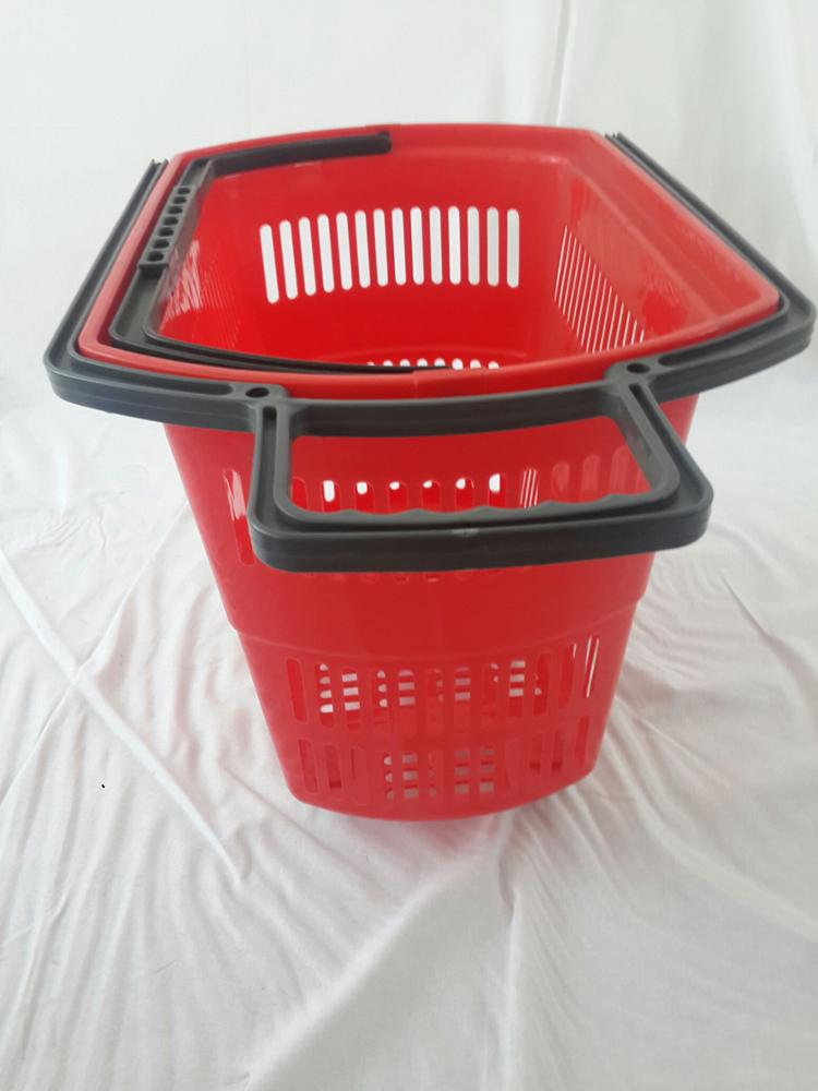 Buy Rolling Make Up Artist Bag With Seat: Plastic Rolling Shopping Baskets With Wheels