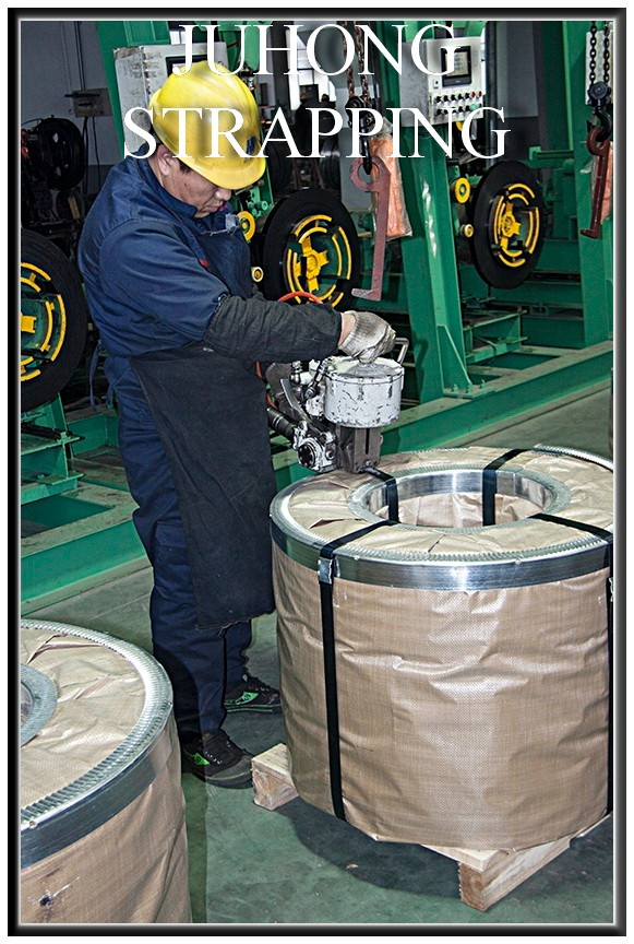 16mm High Duty Baling Steel Strapping With Iso Certificate
