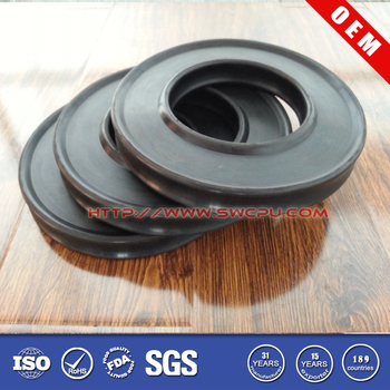 Anti Vibration Black 20mm Rubber Washer Gasket Seal For Plumbing ...