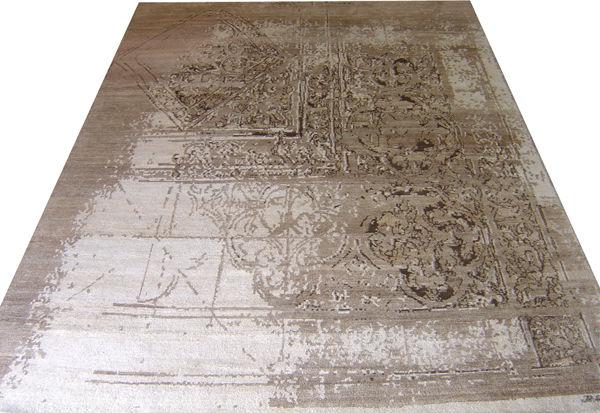 Nepal Teppich aus Hanf, Nettle, Silk & WolleTeppich