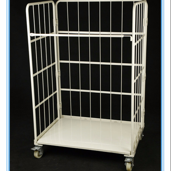 Best sell storage logistic container trolley for transporting