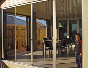 Popular Europe design Barrier-free insect screen system