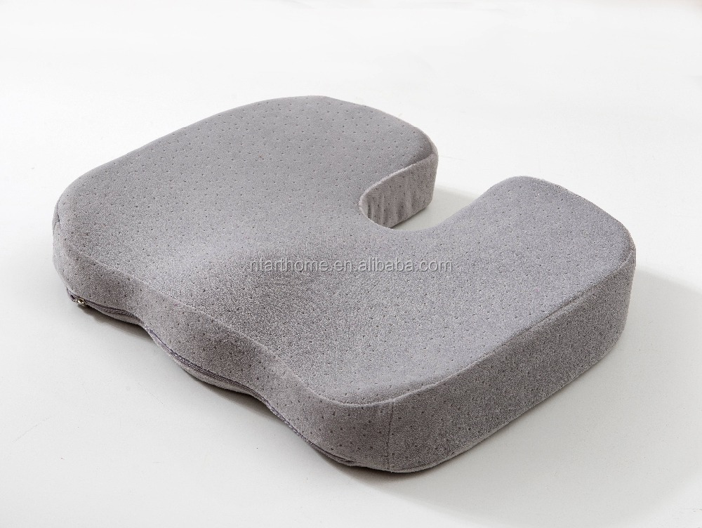 Hot sale fashion memory foam beads seat cushion for chair car office home