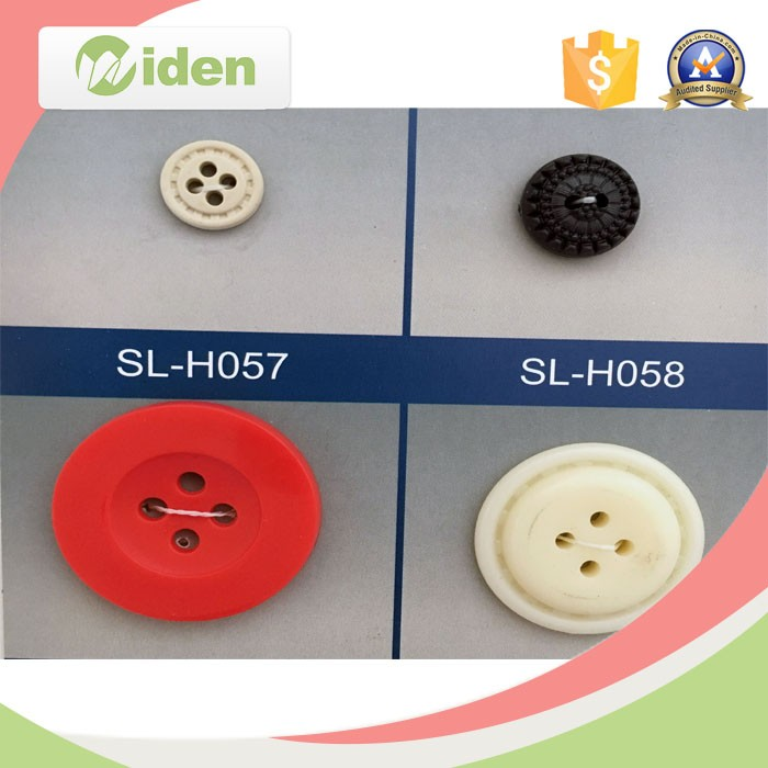 ACRYLIC ASSORTED COLOURS........H058 15mm PACK OF 30 BASEBALL CAP BUTTONS