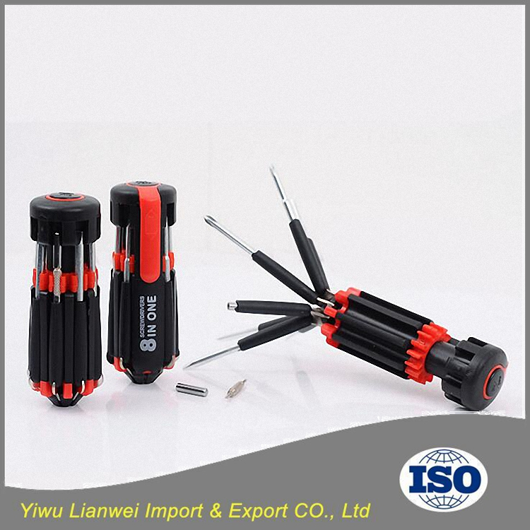 8 in 1 Multi Screwdriver Tools Set with led light