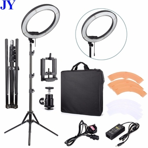 Good price 18 inch photography studio dslr camera makeup phone selfie smd led circle ring light with stand