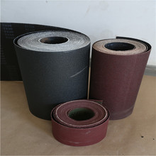 WX713-1 Poly-cotton Aluminum Oxide Coated Abrasive cloth Jumbo Roll