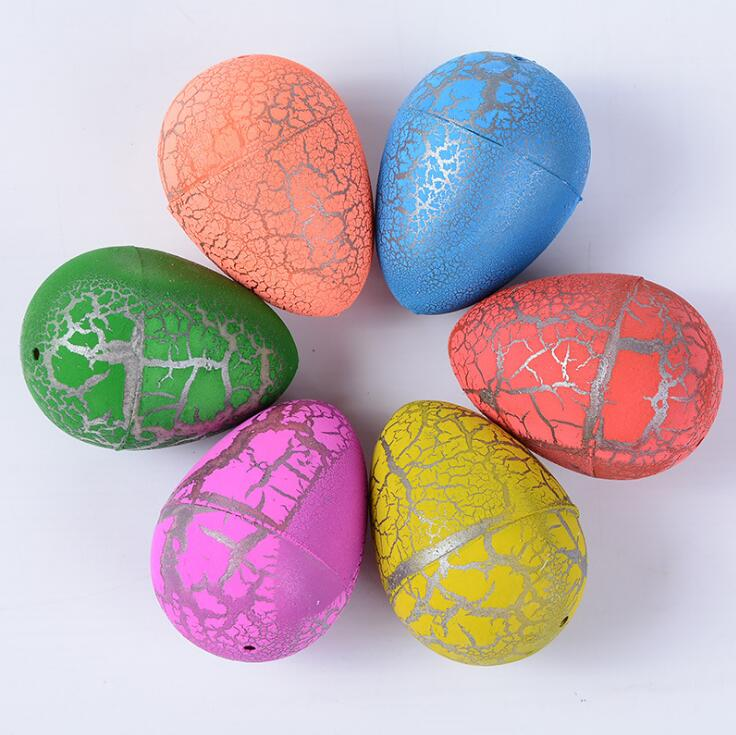Novelty Dinosaur Egg Magic Hatching Growing Dinosaur Toys Mid Size Dinosaur Fossils Eggs for Sale