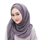 Good quality wholesale muslim chiffon scarf hijab women head scarf
