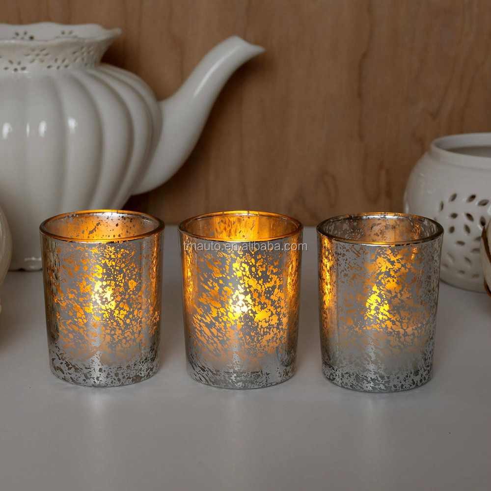 Wholesale Mercury And Copper Glass Candle Jars - Buy Glass Jars ...