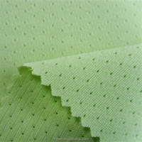 Net dry warp knit micro mesh fabric for training bibs, tank tops, sports jersey