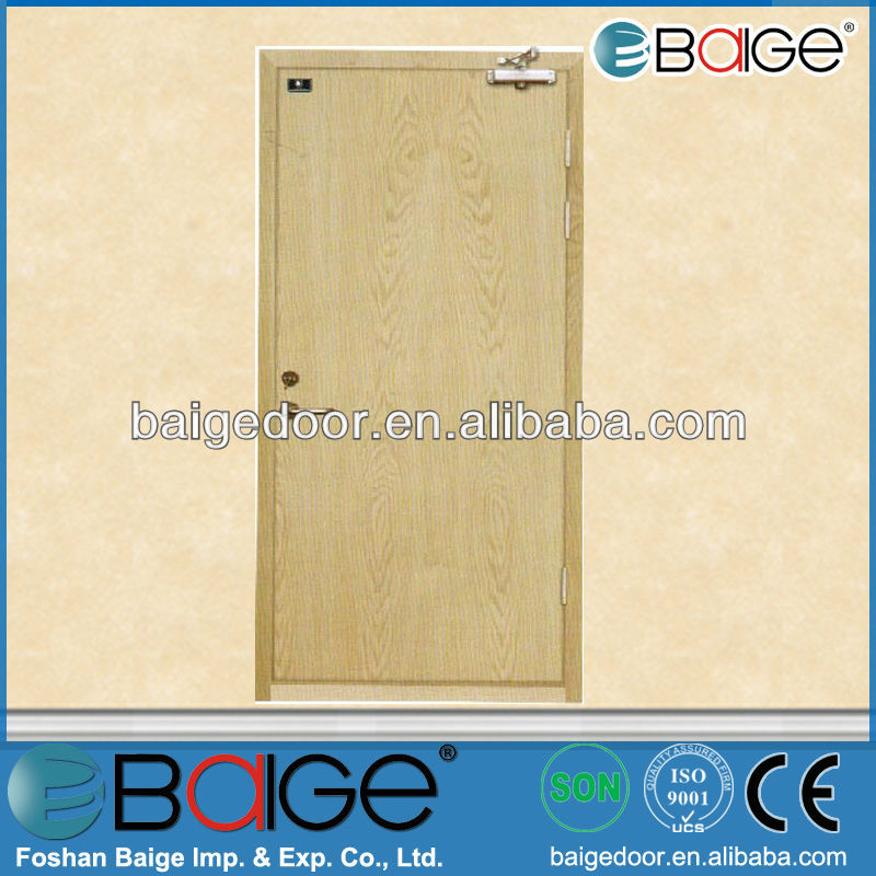BG-F9032 prices of fire proof doors/safe front apartment steel door