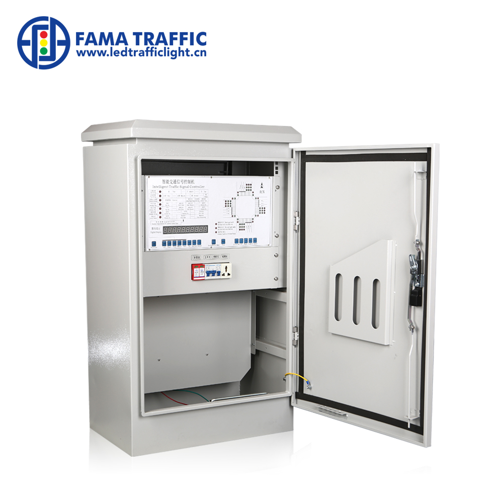 Factory Supply 32 Outputs Fix Time Intelligent Traffic Light Controller