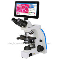 40X-1000X CE Certified Biological Digital Microscope with LCD Screen