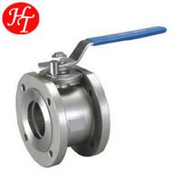 Wholesale Factory Made blow off flanged ball valve with valve ball