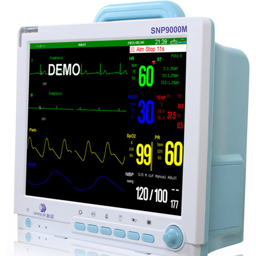 Sinnor 15 inch multi-channel mindray cardiac ICU patient monitor shenzhen
