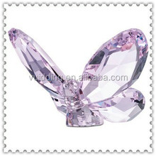 Beautiful Glass Crystal Butterfly For Holiday Gifts