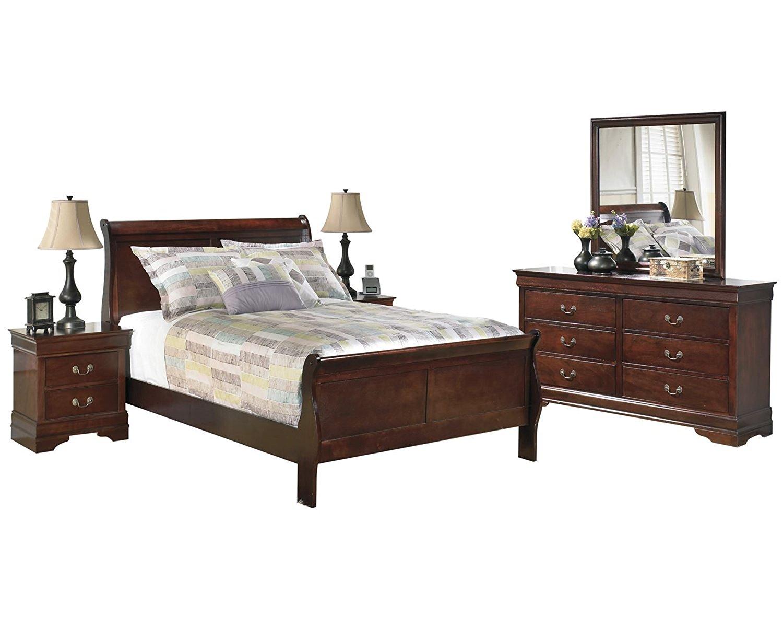 Buy Senator Dark Brown Sleigh Bed With Optional Storage In