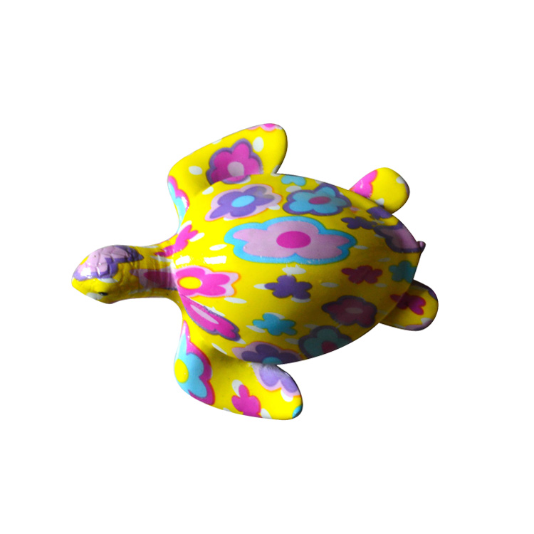 Personalizzato Colorful Sea Turtles Figurine Souvenir Regalo Freezer Magnete Resina